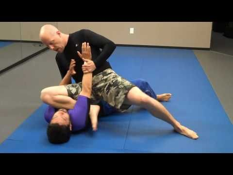 jay-jitsu BJJ - No Gi - Near side arm bar from side mount