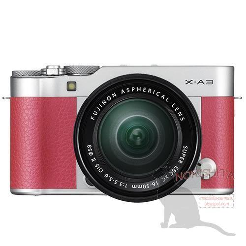 Leaked images of the Fujifilm X-A3 boast a retro look