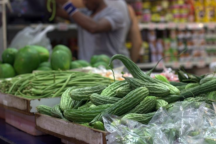 Asian greens in Carmel market #market #carmelmarket