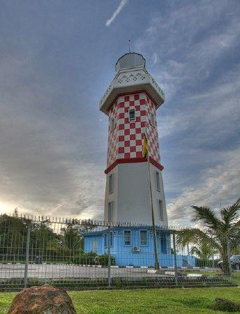 Lumut LightLumut located in a hilly area near theSouth China Sea Brunei4.649514, 114.408475