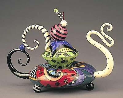 Tim Burton's Tea Pot