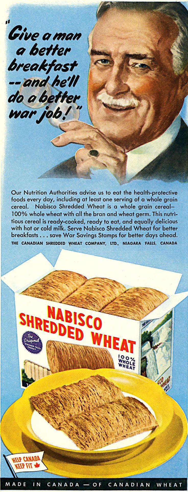 Shredded Wheat & WWII