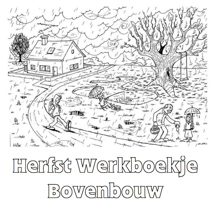 Herfst Werkboekje voor de bovenbouw. Klik voor de PDF.