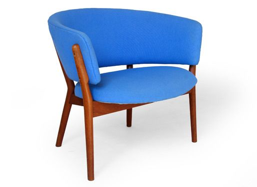 Nanna Ditzel Søren Willadsen #82 Teak Danish Mid Century Modern Easy Chair Amazing Pictures