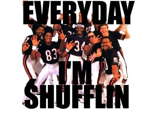 1985 Chicago Bears Super Bowl Shuffle knowledge.
