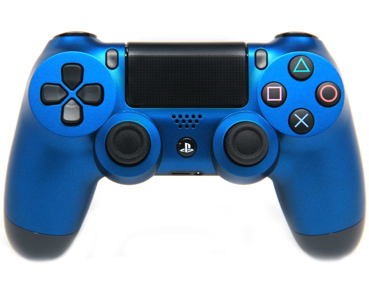 "This is our ""Matte Blue"" PlayStation 4 Modded Controller. It is a perfect gift for a special gamer in your life. Order yours today at: http://moddedzone.com/ You can also visit our eBay store at: http://stores.ebay.com/moddedzone/"