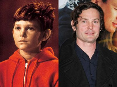 Henry Thomas Et Stars Then And Now Celebrities Then And Now Actors