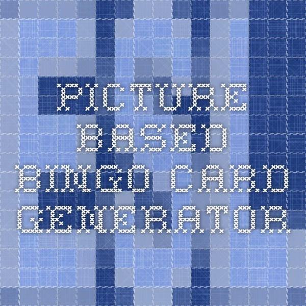 25+ melhores ideias de Bingo card generator no Pinterest ...
