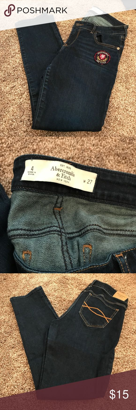 Abercrombie jeans Sz 27 Cute abercrombie jeans size 27. Skinny Abercrombie & Fitch Jeans Skinny