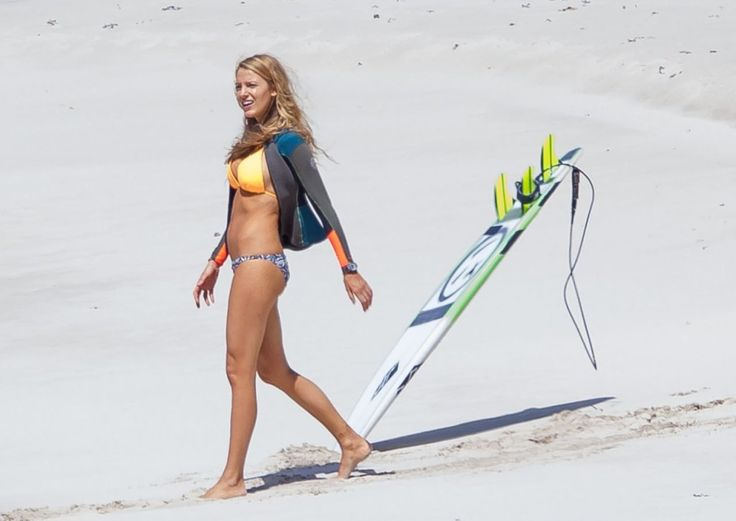 Blake Lively in a Bikini on the Set of the Australian Movie 'The Shallows'