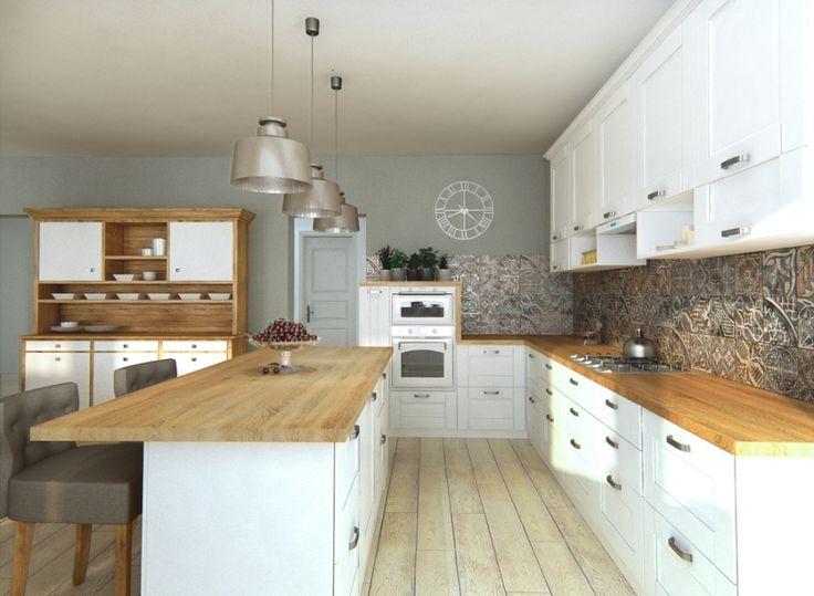 kuchynska linka provensalsky styl - Hľadať Googlom