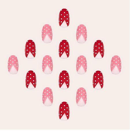 Manicure for Valentine's day  Маникюр на день святого Валентина!  #manicure #nails #ideas #valentinesideas #valentinesmails