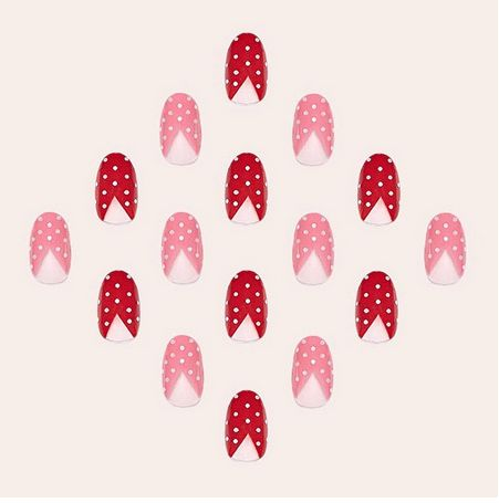 Manicure for Valentine's day  Маникюр на день святого Валентина!  #manicure #nails #ideas #valentinesideas #valentinesmails