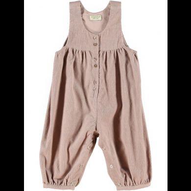 Gammelrosa buksedrakt i babykord