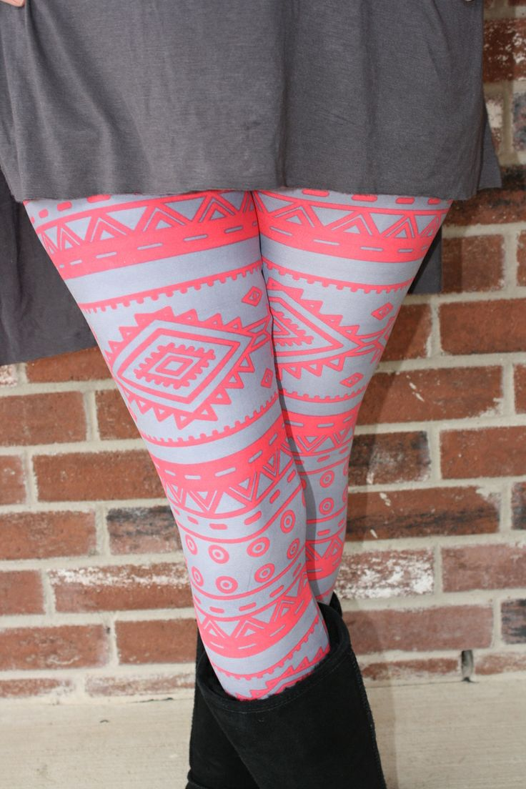 Sweet Southern Sass Boutique - Coral Aztec Leggings, $11.99 (http://www.sweetsouthernsassboutique.net/coral-aztec-leggings/)