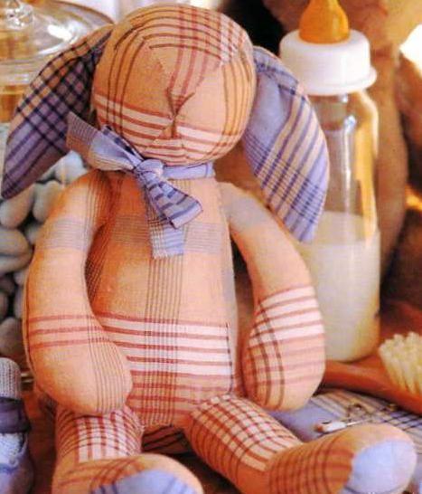 [Couture] Le lapin doudou - La Boutique du Tricot et des Loisirs Créatifs