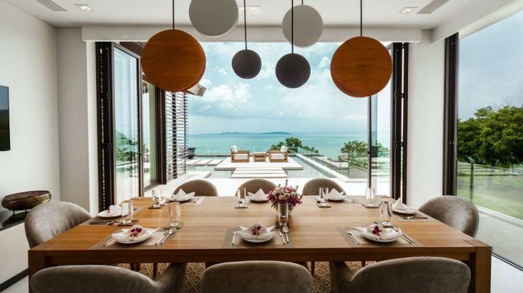 Such a beautiful day for alfresco dining at Villa Amarapura.
