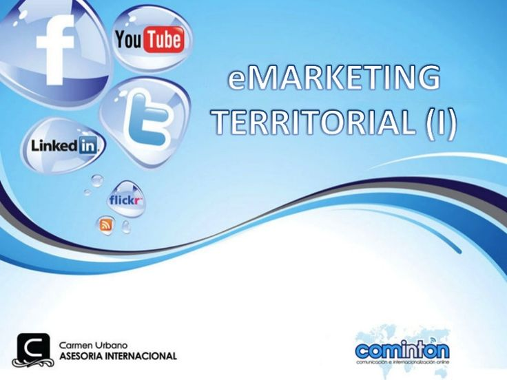eMarketing Territorial. Carmen Urbano. Marketing online y turismo 2.0