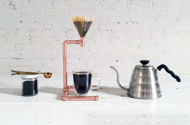 Cafetière à filtre avec des tuyaux de cuivre hmm ep53 coppercoffeemaker option1.jpg