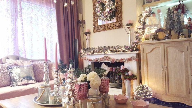 My amazing living room Christmas decoration