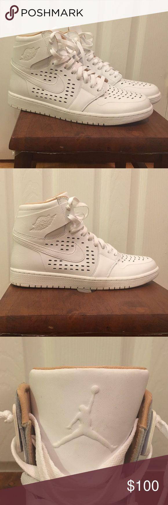 NWOB Nike Air Jordan One Engineered Perf sneakers The ultimate in cool kicks. Brand new (NWOB) Men's Nike Air Jordan One Engineered Perf sneakers. Never worn! True to size. Purchased on original release date. Nike Shoes Sneakers