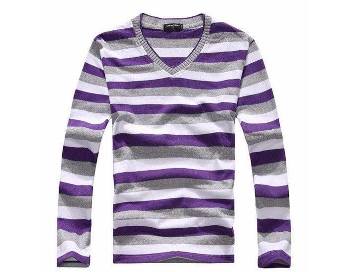 Pánský stylový slim svetr s dlouhým rukávem fialové – pánské svetry + POŠTOVNÉ ZDARMA Na tento produkt se vztahuje nejen zajímavá sleva, ale také poštovné zdarma! Využij této výhodné nabídky a ušetři na poštovném, stejně …