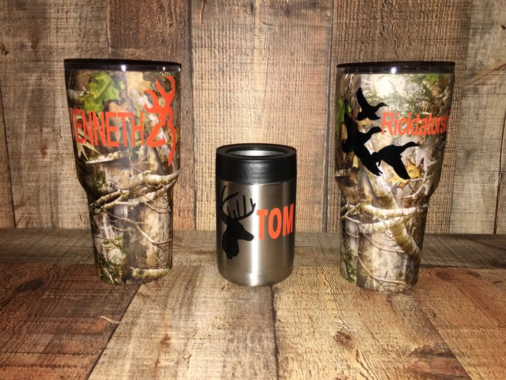 Customized Camo RTIC Tumbler, Powder Coated, Monogrammed Tumbler, Mens Gift, Hunting Gift, Personalized Tumbler, Groomsman Gift by MemoryJarCreations on Etsy