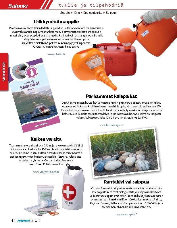 Venemestari-lehti löysi mahtavan uutuutemme - EKOsuppilo! Nyt saatavilla.  Made in Finland
