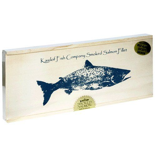 Kasilof Fish Company Alder-Smoked Sockeye Salmon 16-Ounce Fillet in Gift Box  sc 1 st  Pinterest & 16 best Seafood Packaging images on Pinterest | Seafood Packaging ... Aboutintivar.Com