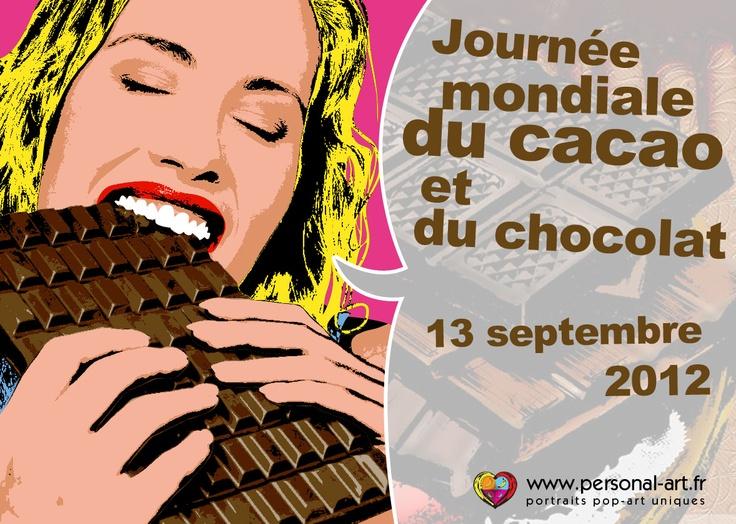 QUI aime le CHOCOLAT ?    Design de www.personal-art.fr