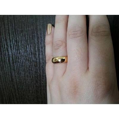 Par Alianças Moedas Antigas Tradicionais 6mm Banhadas A Ouro - R$ 79,99