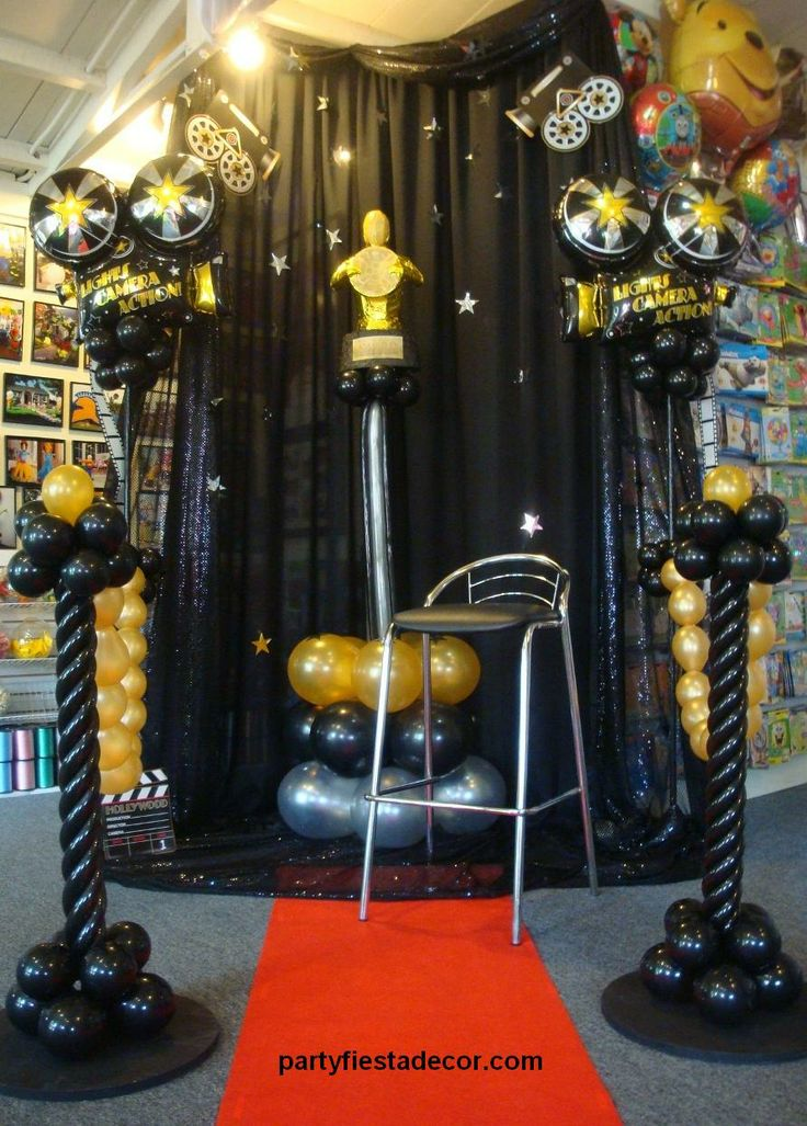 Party fiesta balloon decor for Awards and decoration