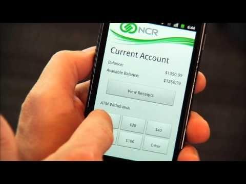 ATM Kiosk Mobile Cash Withdrawal Video Demo #BankInnovation