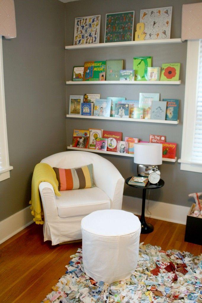 Baby Bowden S Nursery Shelf Ideas Nooks And Book Wall