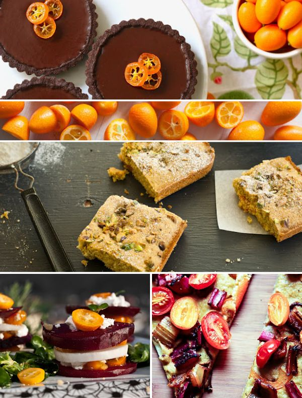 A variety of recipes you can make with the small and mighty kumquat!