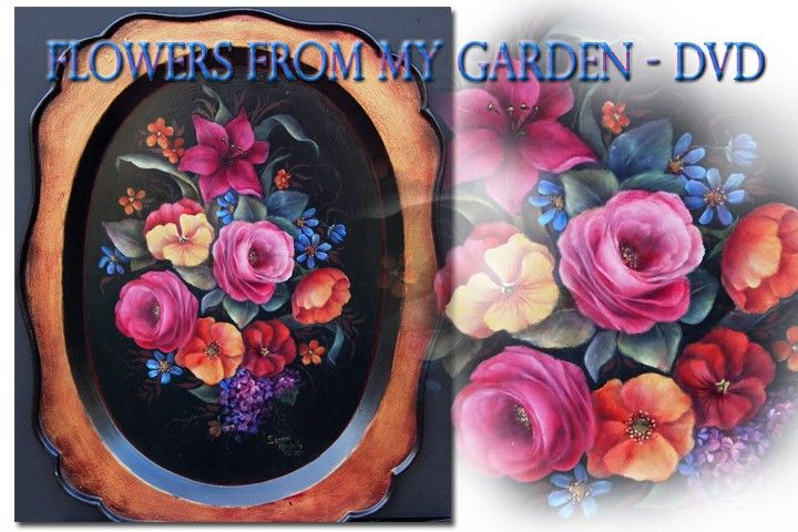 learn how to paint flowers online