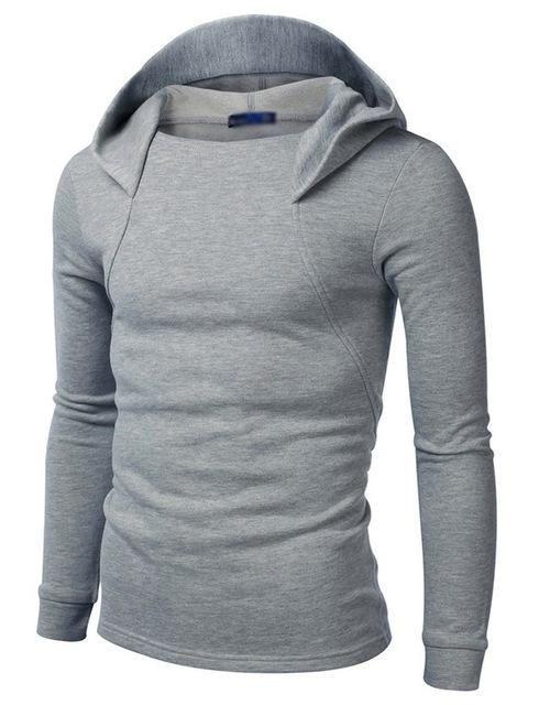 Men Slim Fit Hoodie #fashionhoodiemens