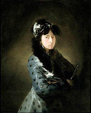 Francisco de Goya y Lucientes - La marquesa de Castrofuerte, ca.1804-08, Óleo sobre lienzo, 91×71 cm, Musée des Beaux Arts de Montréal, Montreal, Canadá