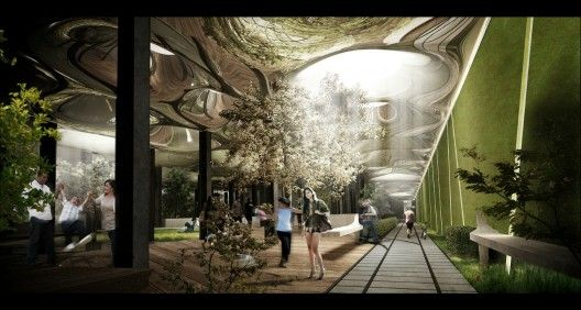I LOVE this underground park design for NYC!