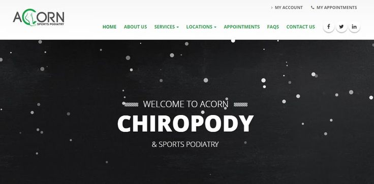 Our chiropodists & podiatrists offer several chiropody and sports podiatry services with surgeries located at Cardiff, Bridgend, Barry, Penarth & Porthcawl. #porthcawlchiropody https://www.acornsportspodiatry.co.uk