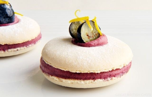 Blueberry & Lemon Macaroons Recipe plus more wonderful recipes.