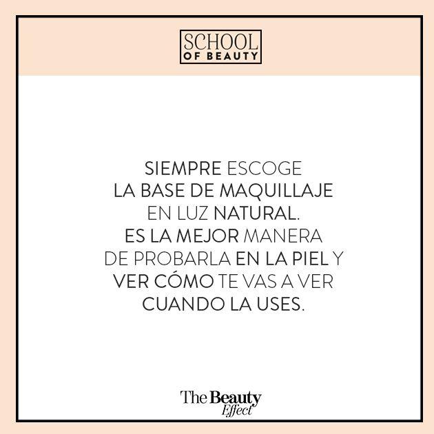 Este y muchos #BeautyTips aprendimos en el #SchoolOfBeauty pasado. En esta próxima edición estamos preparando algo increíble