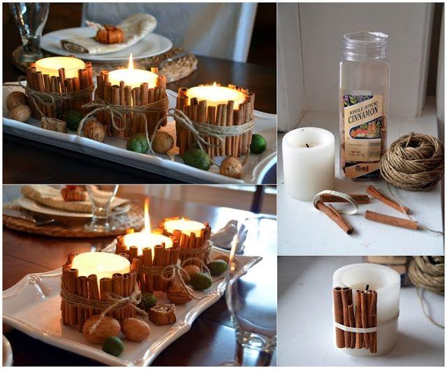 Diy Projects: DIY Cinnamon Stick Candles
