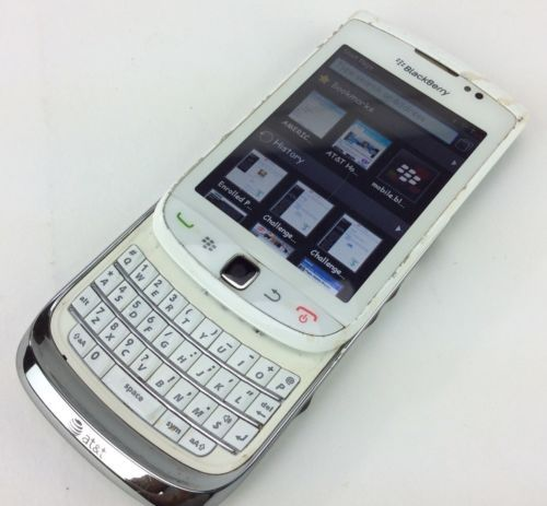 BlackBerry-Torch-9800-4GB-White-Unlocked-Smartphone-AT-T