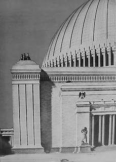"""Welthauptstadt Germania o """"capital del mundo"""" era el nombre que Adolf Hitler dio a la renovación urbana y arquitectónica prevista para B..."""