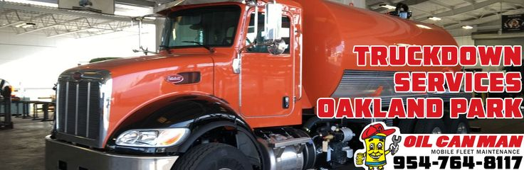 954-764-8117 Oakland Park Truckdown Services Any and All Services Come to You with Tools Parts Oil Gas Electricians.  Open for Business Accounts.  All Sizes of Trucks. Call Dispatch at Oil Can Man Today.  http://oilcanman.com/truckdown-oakland-park/  #TruckdownOaklandPark #OaklandParkTruckdown  Oil Can Man 954-764-8117 730 NW 7th St Oakland Park, FL 33311 Repairs@OilCanMan.com www.OilCanMan.com