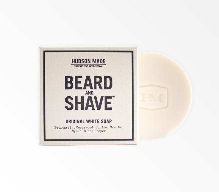 Savon pour la barbe et le rasage Original White de Hudson Made