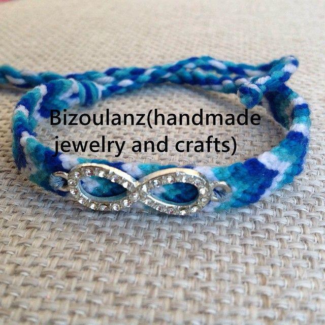 Blue infinity friendship bracelet #blue#friendshipbracelets#infinity#chevron#bracelet#handmade#bizoulanz#χειροποίητο#βραχιόλι#μπλέ#άπειρο#πλεχτό