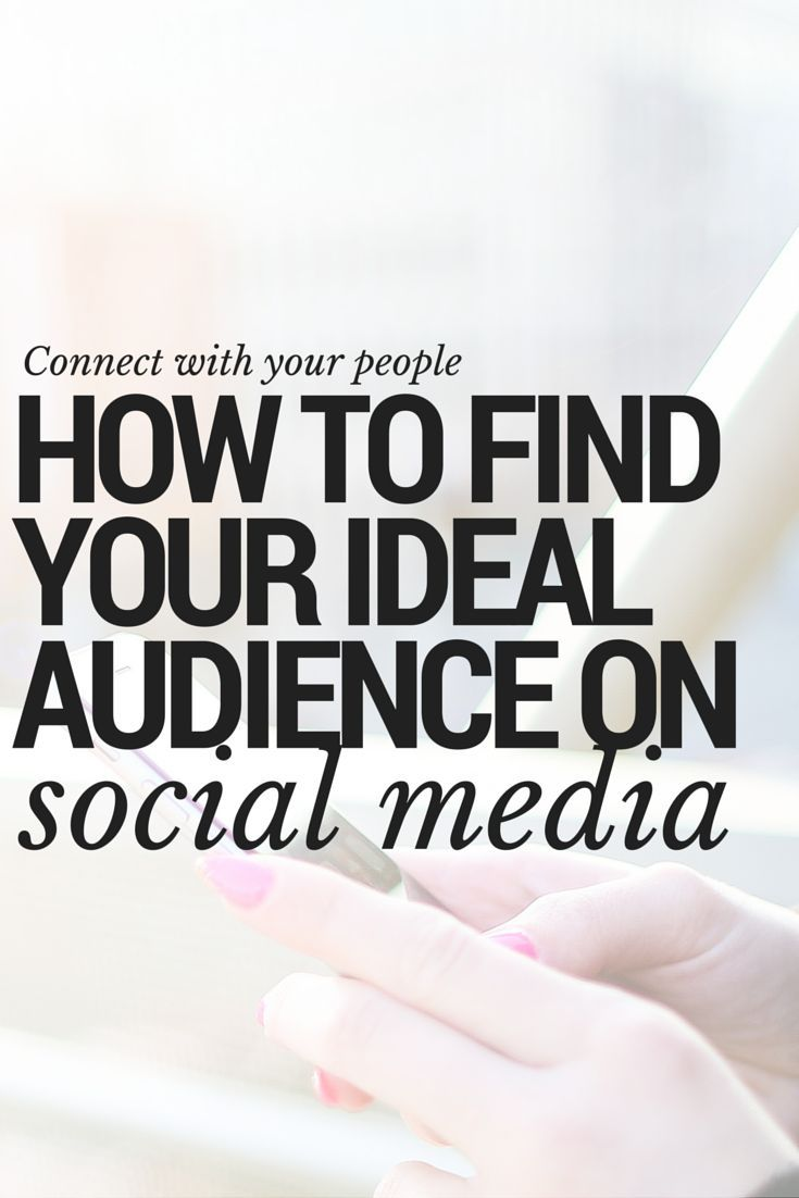 How to define your ideal reader and find your blog or business' target audience on social media. Discover social network demographics to help you choose a platform and connect with your people. Social media tips tools and tutorials.