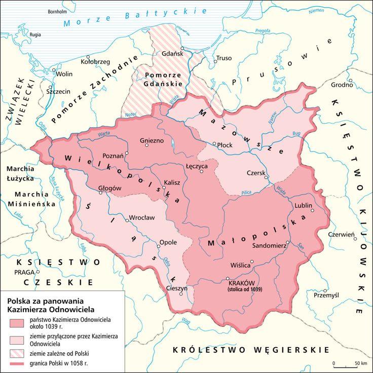Włącz Polskę mapy